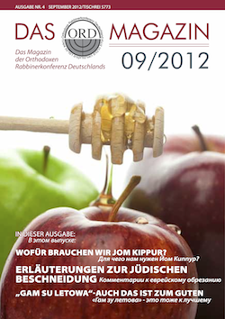 ORD Magazin 1/2012 Cover